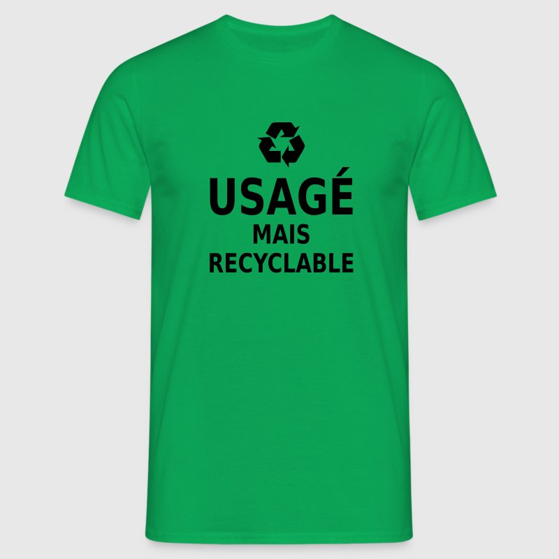 usagé mais recyclable Tee shirts - T-shirt Homme