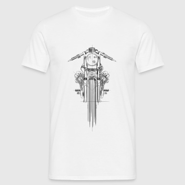 MOTO GUZZI V7 - Men's T-Shirt