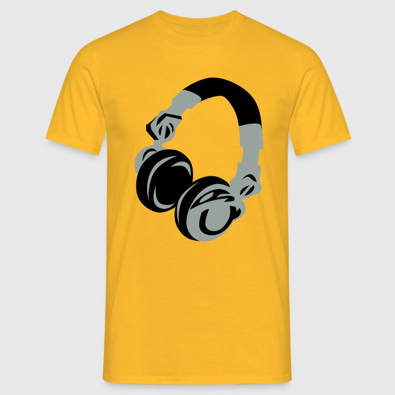 DJ Headphones T-shirts - Mannen T-shirt