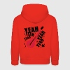 Red Rock Yeah yeah bass Hoodies - Kids' Premium Hoodie