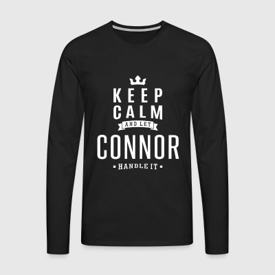 Let Connor Handle It! - Men's Premium Longsleeve Shirt