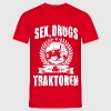 Sex, drugs & Traktoren T-Shirts - Männer T-Shirt