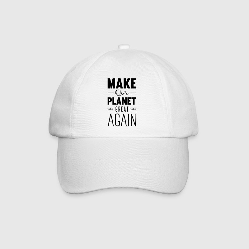 make our planet great again Casquettes et bonnets - Casquette classique
