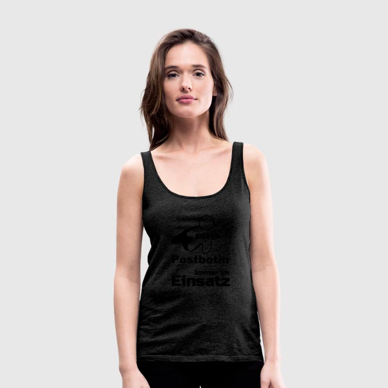 Super Postbotin Tops - Frauen Premium Tank Top