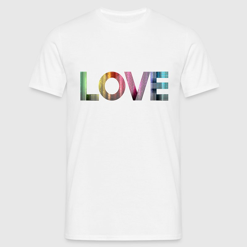 Love is everywhere SHIRT MAN - Männer T-Shirt