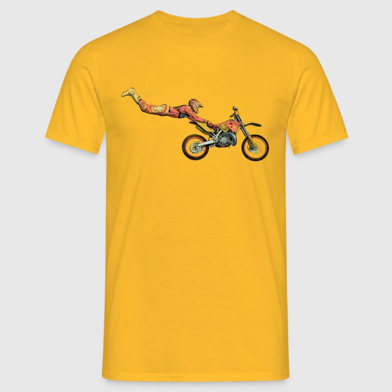 motocross freestyle Tee shirts - T-shirt Homme