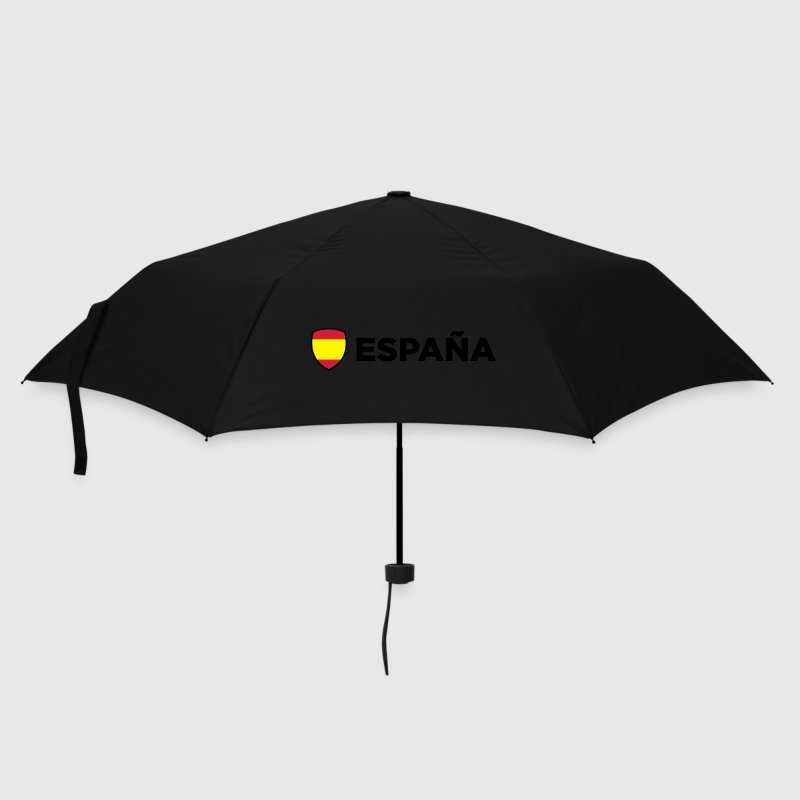 Black Spain Emblem Side 1 (3c, NEU) Umbrellas - Umbrella (small)