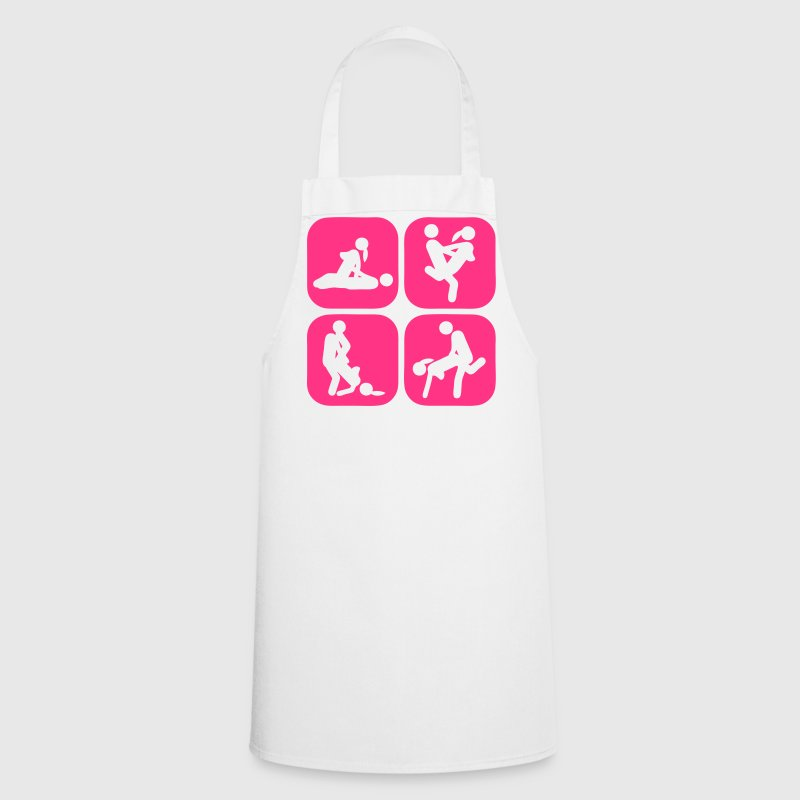 sex love icon position couple group  Aprons - Cooking Apron