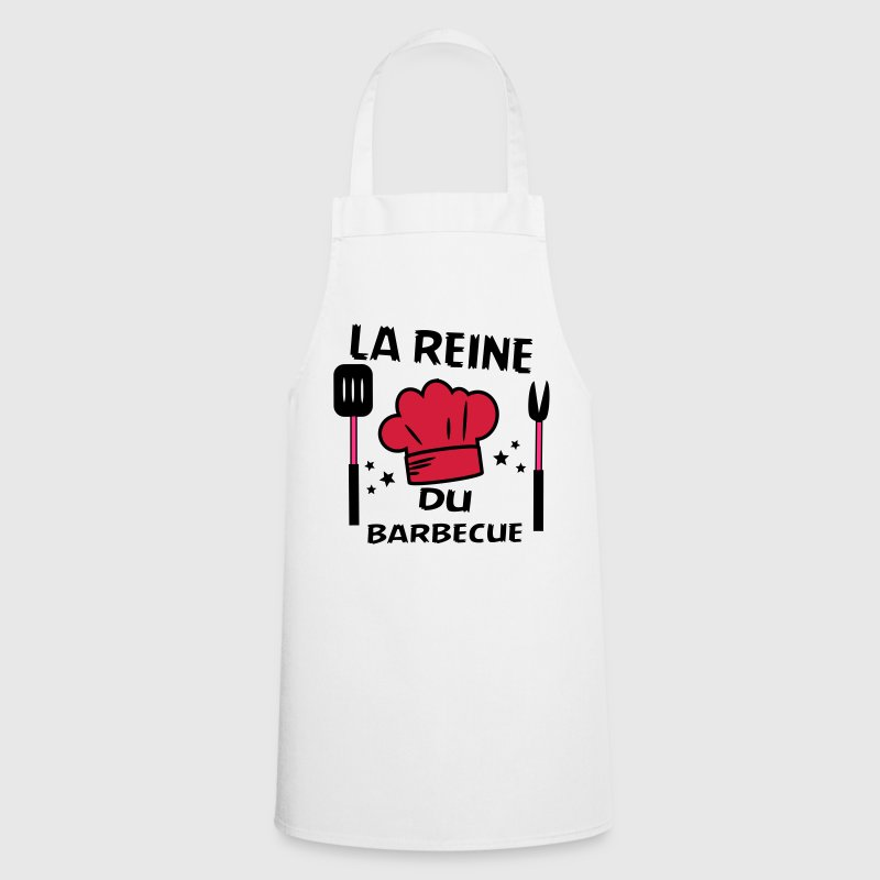 la reine du barbecue - Tablier de cuisine