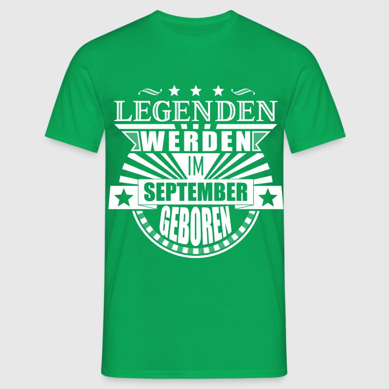 Legenden September - Männer T-Shirt
