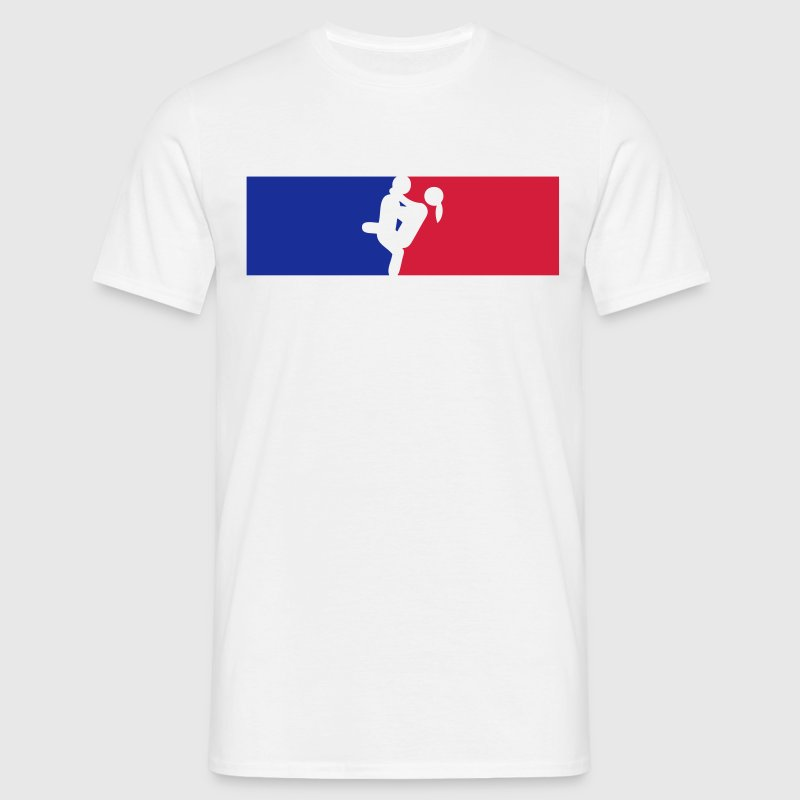 logo france sexe couple amour position  Tee shirts - T-shirt Homme