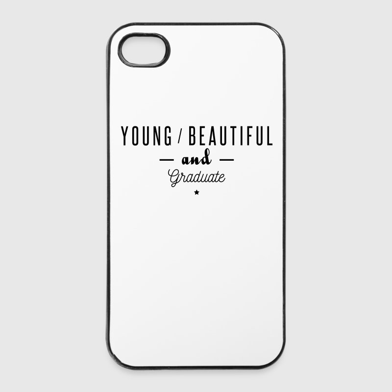 young beautiful graduate Phone & Tablet Cases - iPhone 4/4s Hard Case