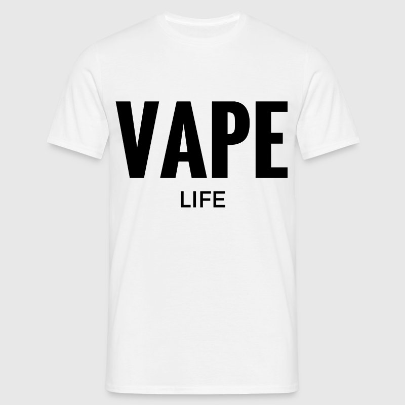 Vape Life Vaping T-Shirt. - Men's T-Shirt