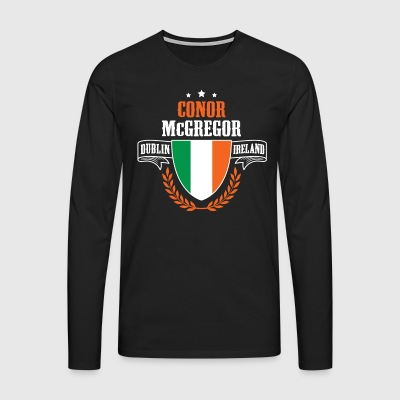 Connor McGregor T-Shirts - Men's Premium Longsleeve Shirt