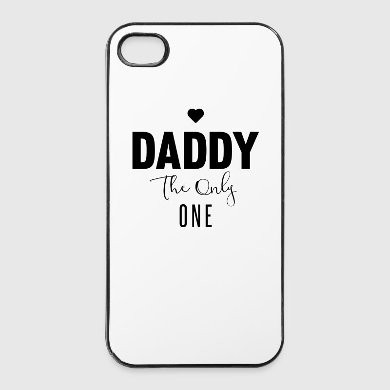 DADDY-THE-ONLY-ONE Coques pour portable et tablette - Coque rigide iPhone 4/4s