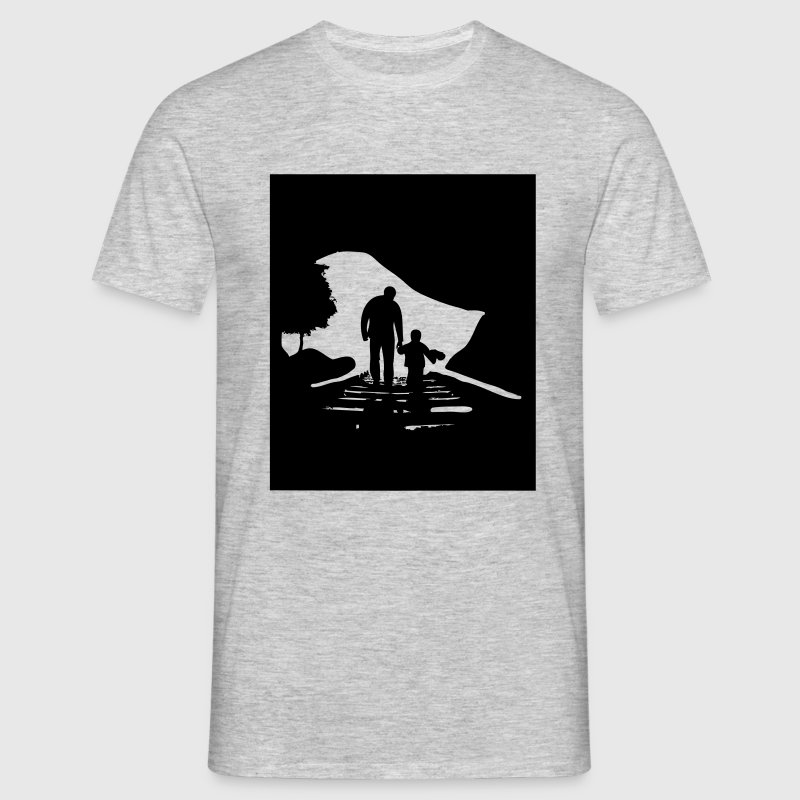 Father and Son - Männer T-Shirt