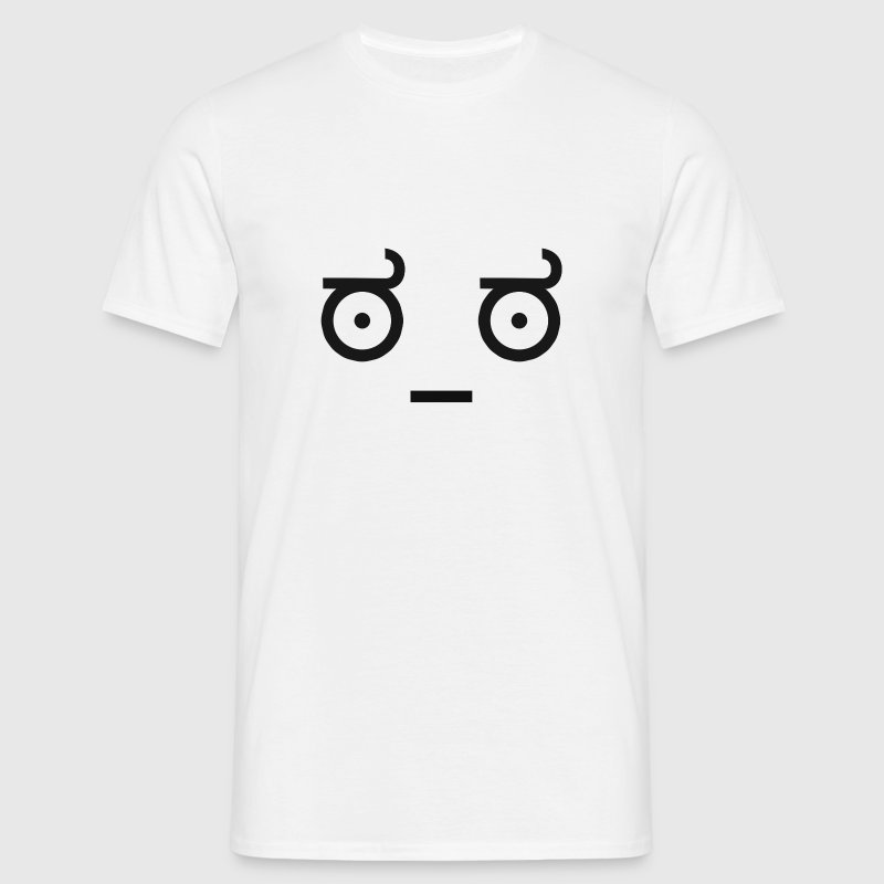 Emoticon Ascii worry - T-shirt Homme