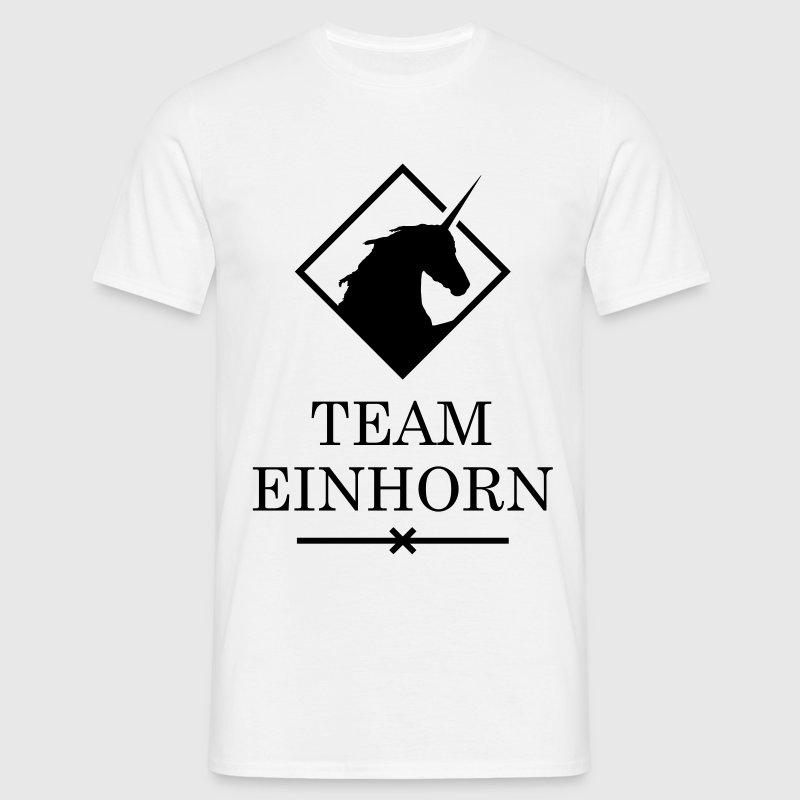 team einhorn fabelwesen einh rner spruch einhorn t shirt spreadshirt. Black Bedroom Furniture Sets. Home Design Ideas