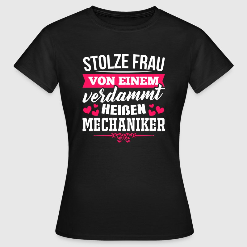 Mechaniker T-Shirts - Frauen T-Shirt