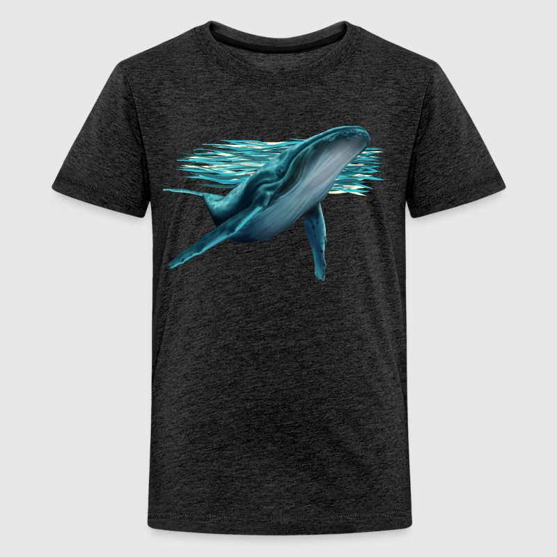 Whale T-shirts - Teenager premium T-shirt