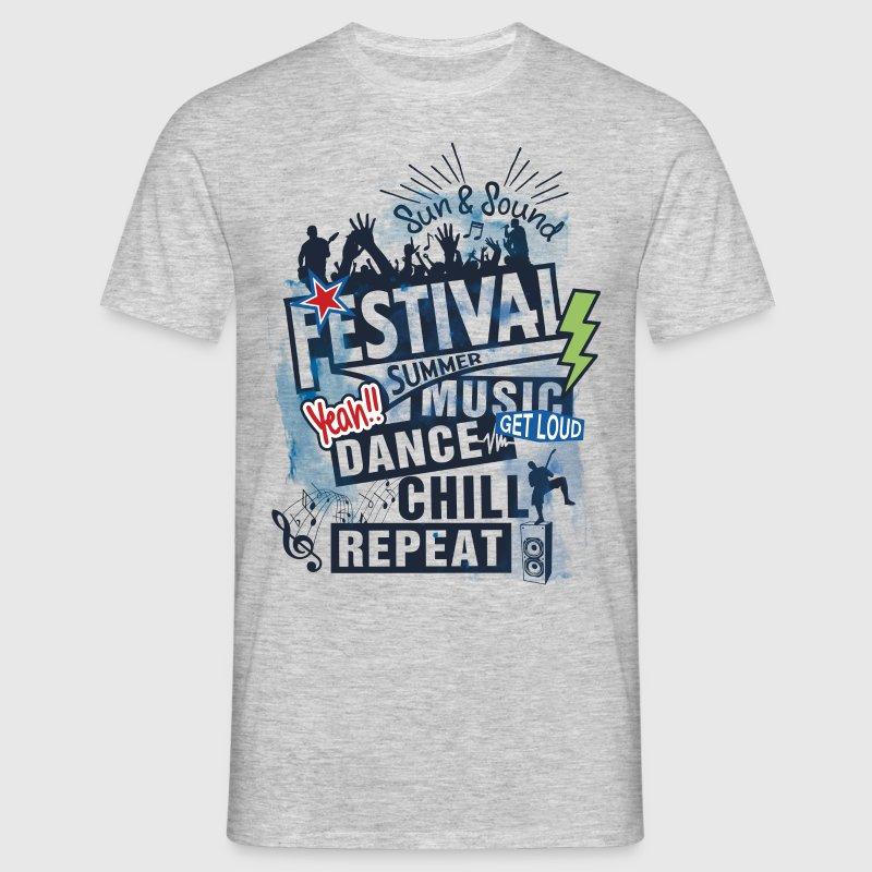 Festival summer music t shirt spreadshirt for T shirt design festival
