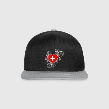 Switzerland - heart Other - Snapback Cap