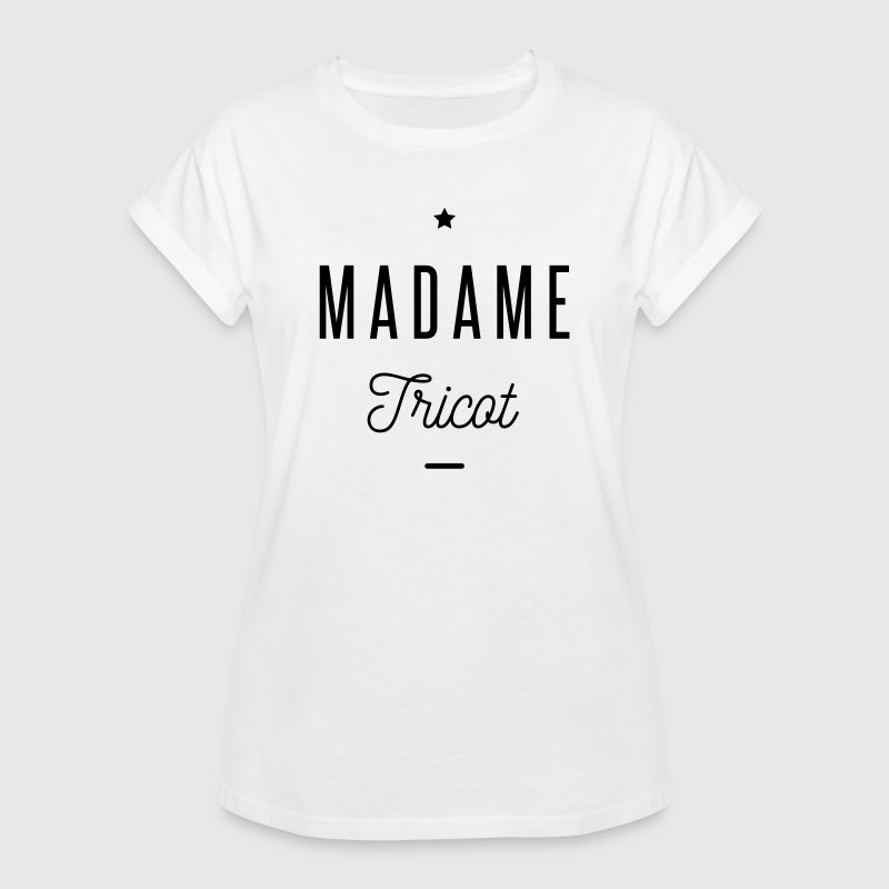 madame tricot Tee shirts - T-shirt oversize Femme