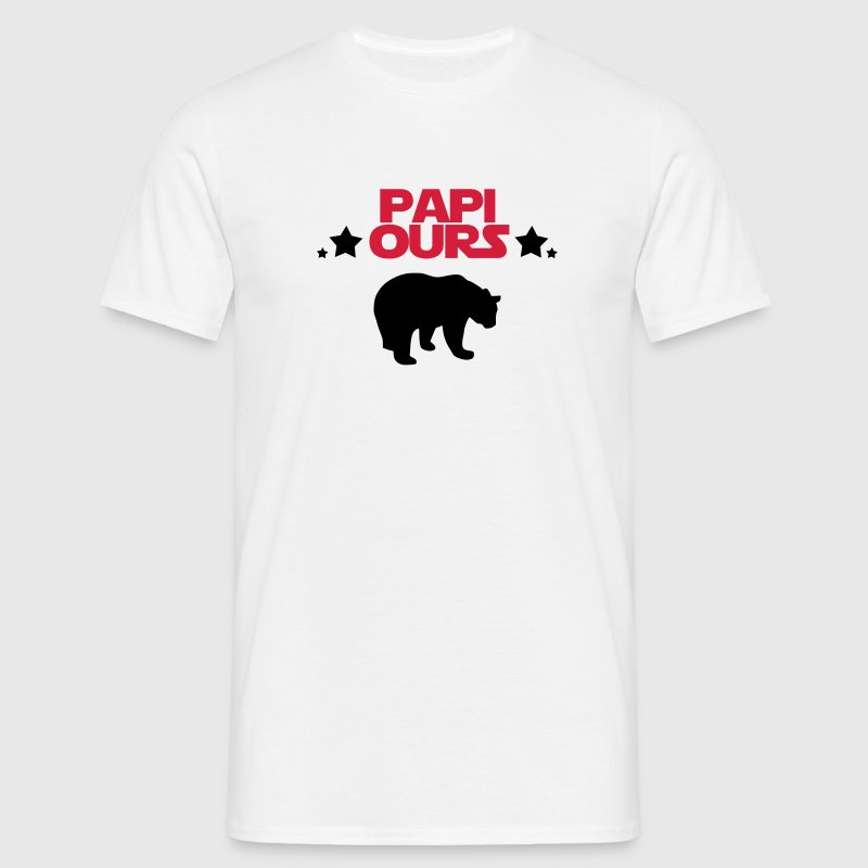 papi ours Tee shirts - T-shirt Homme
