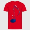 Spaß an der Note / fun with a note T-Shirts - Men's T-Shirt