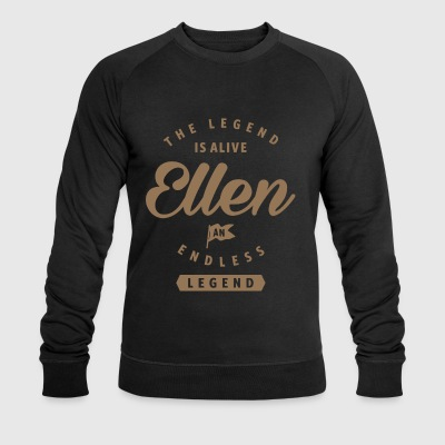 Ellen an Endless Legend - Men's Organic Sweatshirt by Stanley & Stella
