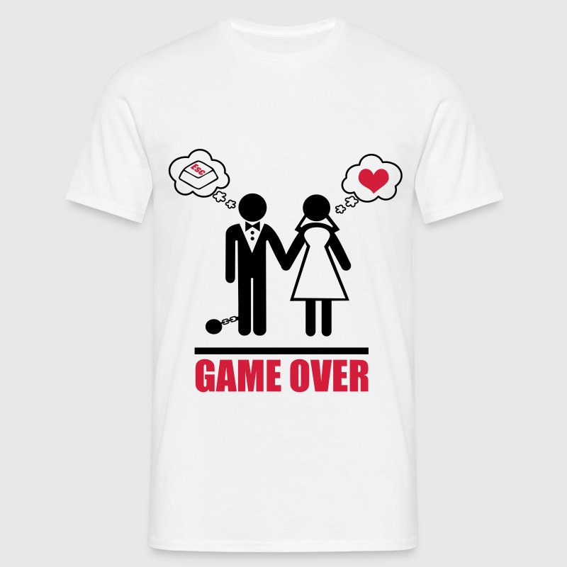 Game Over Stag Do Hen Party Night Bachelor T Shirt