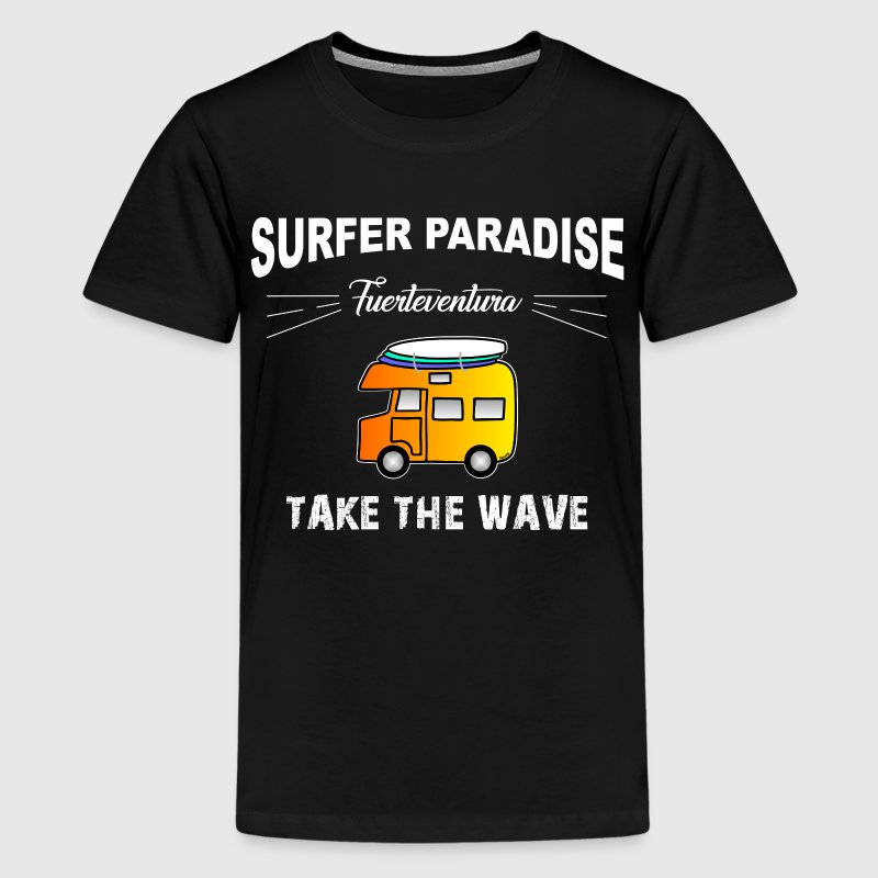 Surfer Camper - Fuerteventura Shirts - Teenage Premium T-Shirt