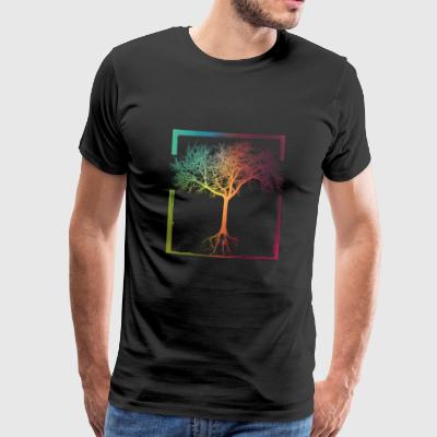 Mother Nature - Frame 06 Sports wear - Men's Premium T-Shirt