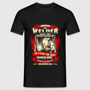 Welder Fixing Crap Engineers Make – EN Sports wear - Men's T-Shirt
