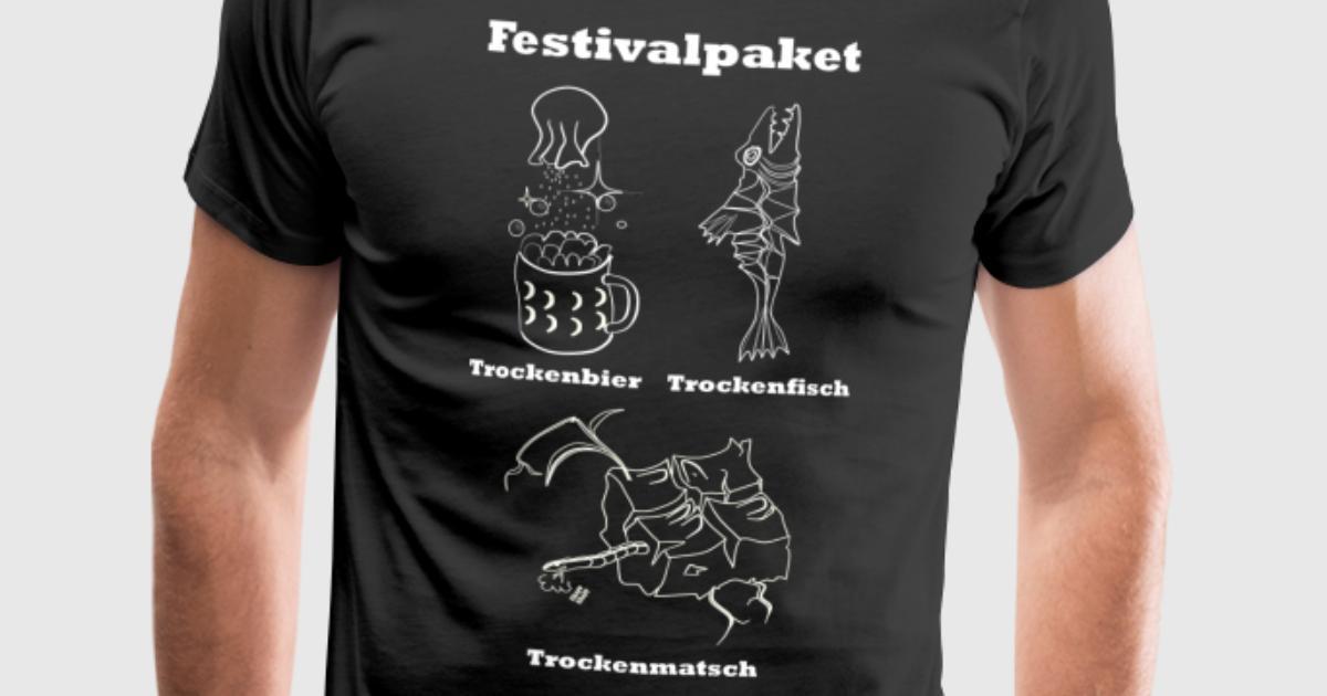 Festivalpaket vorne t shirt spreadshirt for Two color shirt design
