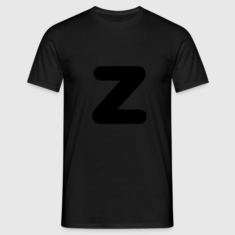 Black Capital Z Men's T-Shirts - Men's T-Shirt