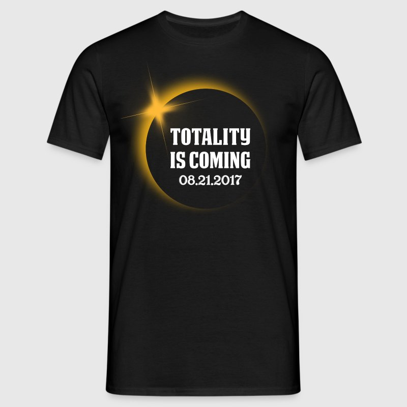 Totality is Coming, August 21, 2017 T-Shirts - Men's T-Shirt