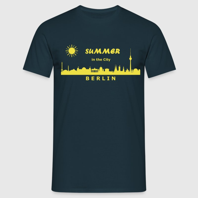 Summer in the City Berlin - Männer T-Shirt