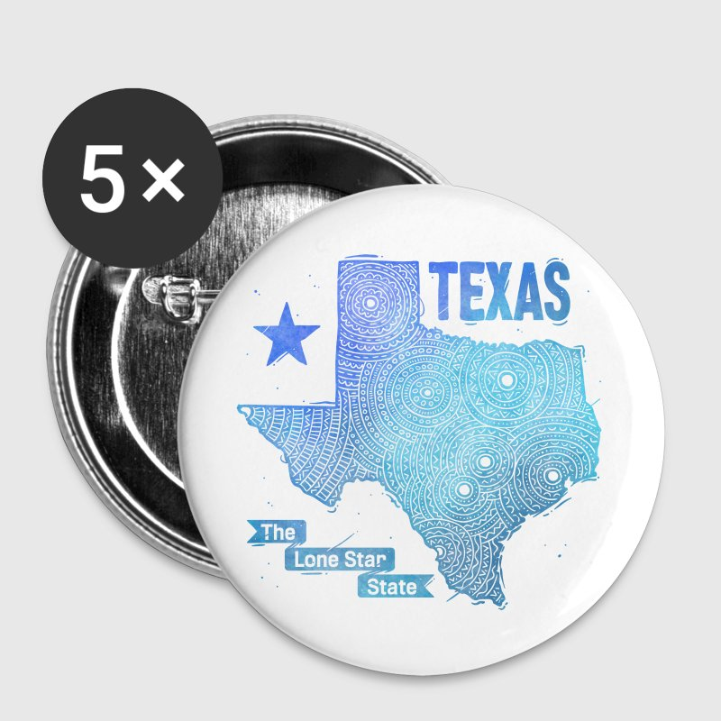 Texas Buttons & Anstecker - Buttons groß 56 mm