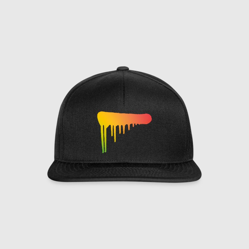 Graffiti art spray can color stroke street art Caps & Hats - Snapback Cap