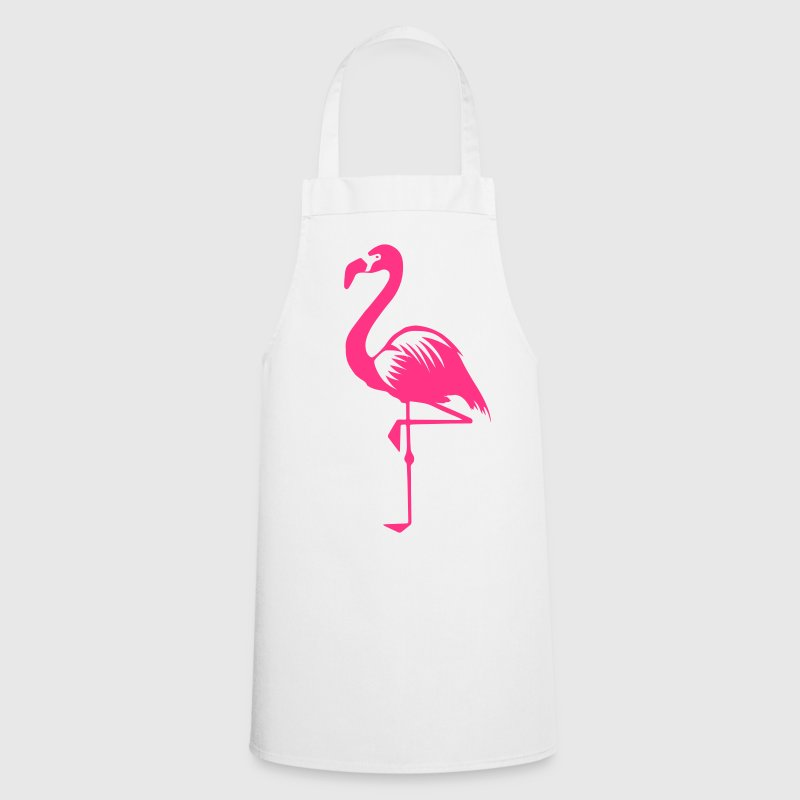 Flamingo pink summer pink bird animal water bird  Aprons - Cooking Apron