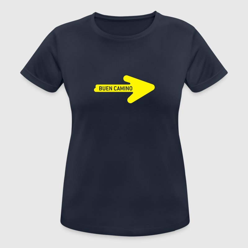 Buen Camino T-Shirts - Women's Breathable T-Shirt