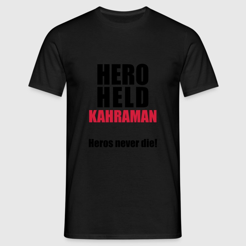 Hero Shirt Erdogan Shirt - Turkey Türkei #Erdogan - Männer T-Shirt