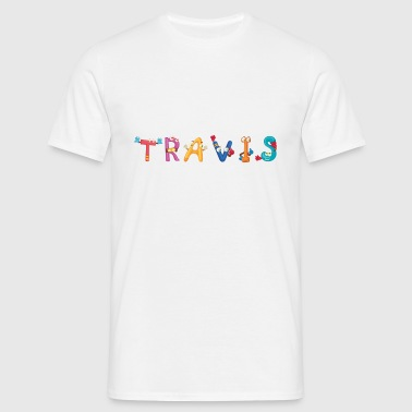 Travis Baby Bibs - Men's T-Shirt