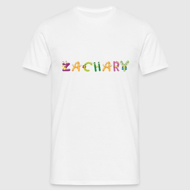 Zachary Baby Bibs - Men's T-Shirt