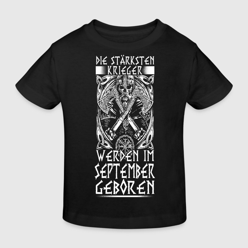 September - Viking - birthday - DE Shirts - Kids' Organic T-shirt