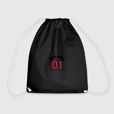 Big Bro 01 - Big Brother Bags & Backpacks - Drawstring Bag