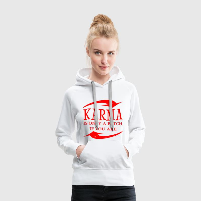 KARMA Sweat-shirts - Sweat-shirt à capuche Premium pour femmes