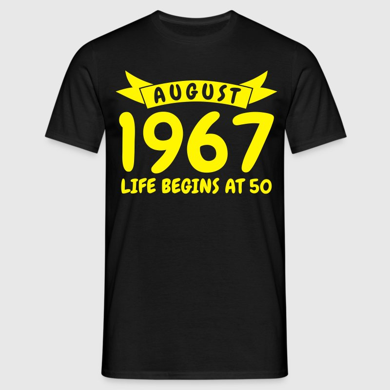 August 1967 T-shirts - Mannen T-shirt