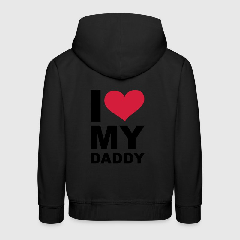 Navy I love my daddy - eushirt.com Kinder Pullover - Kinder Premium Hoodie